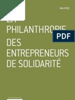 La philanthropie. Des entrepreneurs de solidarité