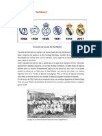 Breve Historia Del Real Madrid