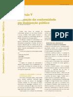 Capítulo V – Avaliação da conformidade em iluminação pública