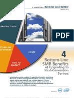 4 Bottom Line SMB Benefits of Upgrading to Next Generation Servers
