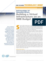 Dell PowerEdge 12th Generation Servers Building a Virtual Infrastructure on an SMB Budget