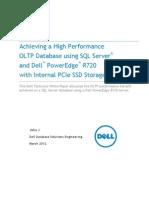 Dell Poweredge r720 SQL Pciessd Oltp v2 0