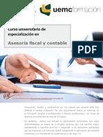 Curso universitario de especialización en asesoría fiscal y contable