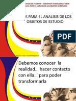 Objetos de Estudio- Analisis Integral