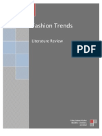 Fashion Litreture Review