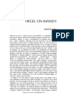 Hegel on Infinity