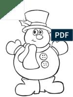Boneco de neve 1