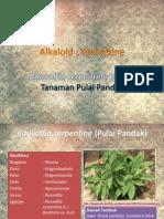 Alkaloid Yohimbine