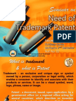 Seminar on Trademark Patent