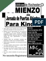 K2K 2013 Spanish