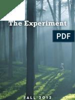 The Experiment - Fall 2012 Catalog