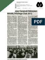 News Article - MAAKL Bintulu Wealth Talk