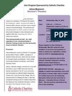 Diversity Training Flier_05-16-12