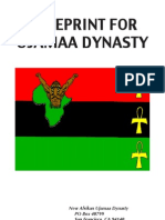 Blueprint for Ujamaa Dynasty