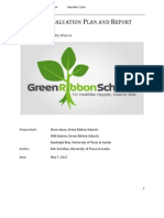 Green Ribbon Schools Usability Report