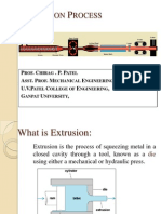 Extrusion Processs 2011