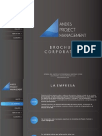 Brochure Andes Project Management