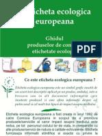 Ghid Produse Etichetate Ecologic
