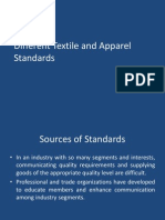 Different Textile and Apparel Standards