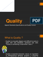 Introduction - Quality & its definitions