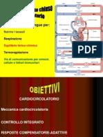 I Lezione Cardiocircolatorio Prima Parte