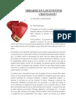 ¿DEBE COBRARSE EN LOS EVENTOS CRISTIANOS_