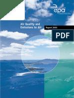 EPA Air Quality Report 2003