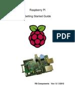 Raspberry Pi Starter Guide