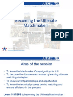 Matchmaker Training