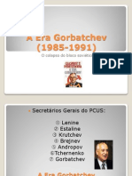 A Era Gorbatchev