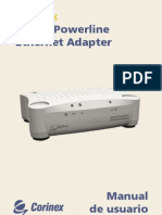 CX AV200 Powerline Ethernet Adapter Manual Spa
