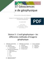 Les Methodes de Geophysiques