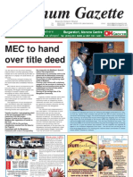Platinum Gazette 11 May 2012