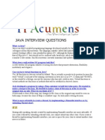 Java Interview Questions Part 1