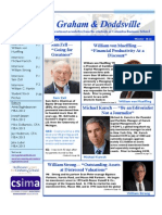 Graham and Doddsville - Issue 14 - Winter 2012