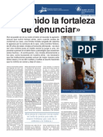 "Separata ""He tenido la fortaleza de denunciar"" - Ipas Bolivia"