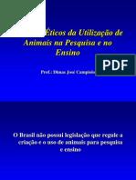 Uso de Animais Na Pesquisa e No Ensino[1]