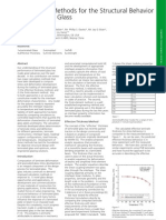 Calculation Methods for the Structural Behavior of Laminated Glass