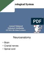 Neuroanatomy Lecture