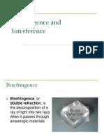Birefringence and Interference by Talat Bilal
