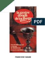 Francoise Sagan - La Sangre Dorada de Los Borgia