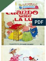 Richard Scarry - Cuadernos 14, Cuando Sale La Luna