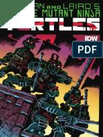 Teenage Mutant Ninja Turtles Color Classics #1 Preview