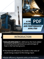 Boiler Efficiency-An Analysis