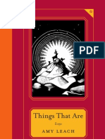 Things That Are | Essays by Amy Leach