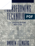 Transforming Technology a Critical Theory Revisited-Oxford University Press, USA(2002)