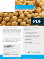 Purifine PLC Verenium