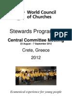 Stewards 2012 Info