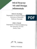 Rawlings - Chemical Reactor Analysis and Design Fundamentals