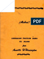 Alabad, Arreglos Fáciles para piano-Annette Harrington